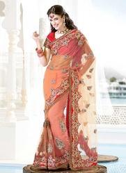 Border Design Saree