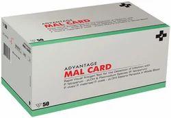 Malaria Card Cassette J Mitra