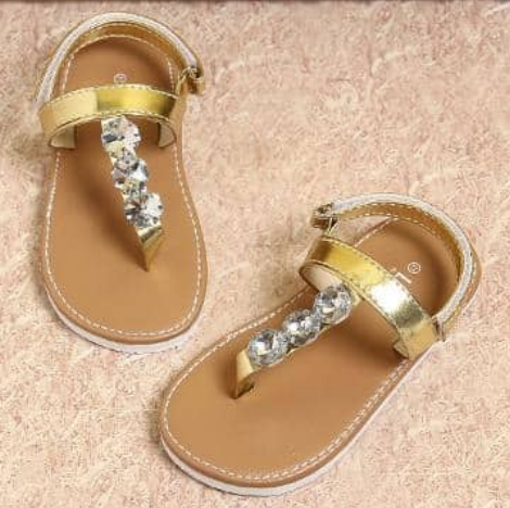really comfortable 50-70%off variousstyles Gold Diamond Studded Tong Sandals