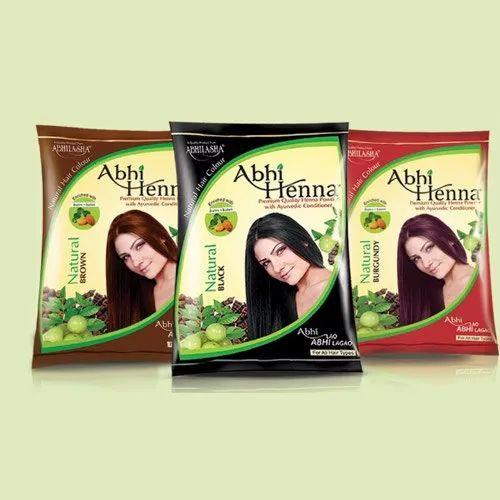 Abhi Heena Natural Powder, Pack Size: 300-600 gm