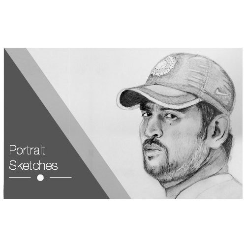 Realistic Handmade Portrait Sketches