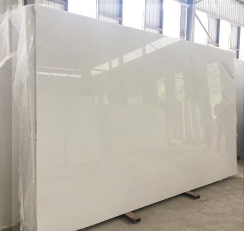 Pure White Marble, Thickness: 15-20 mm, Rs 350 /square feet ...