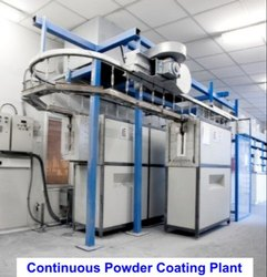 Continuous Powder Coating Plant