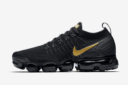 8d2ac879dbf03 Women Black Nike Air VaporMax Flyknit 2