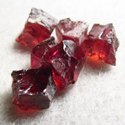 Healing Crystal Rough Garnet Loose Gemstone
