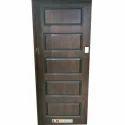 Solid Coated Wooden Door, Thickness: 63 Mm