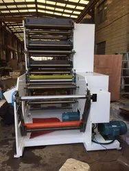 International Paper Mild Steel Four Color Flexo Printing Machine