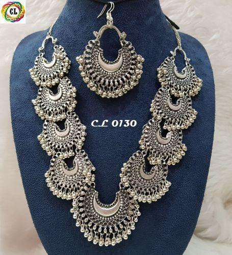 German Silver Jewellery German Silver Necklace Exporter