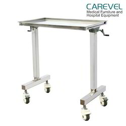 Double Stand Mayo Trolley With Gear