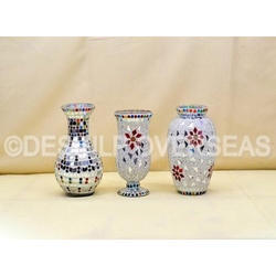 Stylish Mosaic Flower Vase