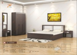 Modern Engineering Wood Box Bed for Home, Model Name/Number: Cs-92