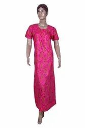 Full Length Multicolor Airline nighties