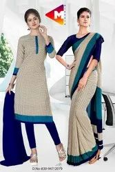 School Uniform Sarees and Salwar Kameez Combo