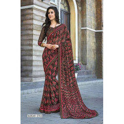 Seymore Satin Fancy Saree