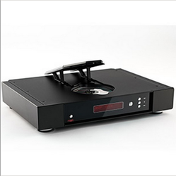 Black Saturn-R CD Player And Dac