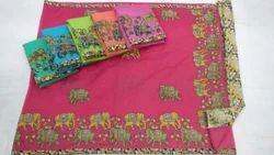 Chanderi Designer Indian Bollywood Ethnic Saree