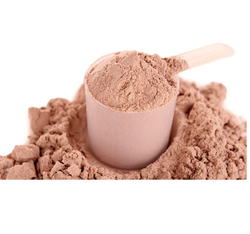 Chocolate Protein Powder for Boost Energy & Muscle Building, Packaging: Paper Bag & Plastic Container