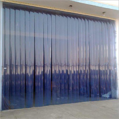 Slide Open PVC Strip Curtain 15 Mm
