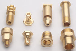 Powder Coated Brass Precision Components