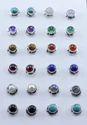 Tiger Eye Gemstone 925 Sterling Silver Stud Earring Jewelry