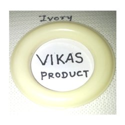 Ivory Colored Male Female Curtain Ring