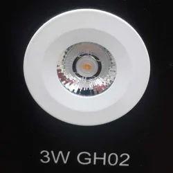 3W LED Panel Light, Shape: Round