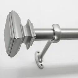 2 - 3 Inch Adjustable SS Curtain Rod, 12 Feet - 15 Feet