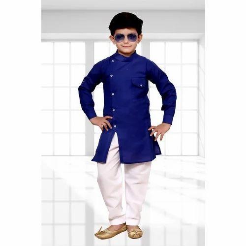 Kids Boys Indo Western Dress