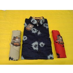 Wintr Cotton Men Stylish Printed Shirt, Size: S-4XL