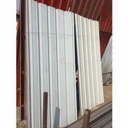White Steel Roofing Sheet