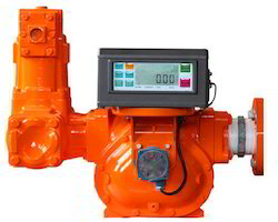 Positive Displacement Flow Meter With Digital Display