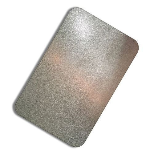 Stainless Steel Coloring Sandblast Sheets, 4-5 Mm   ID: 19874583797