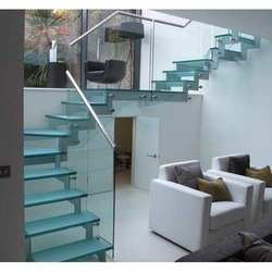 10 mm Button Glass Railing