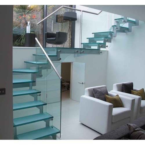 12 mm Glass Staircase for Commercial