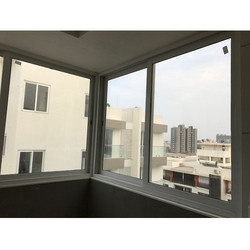 Household Aluminium Sliding Window Domal Section 65 X 27 X 1.5 mm