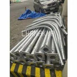Steel Silver Wall Mounting Brackets