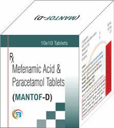 Mefenamic Acid  & Paracetamol Tablets