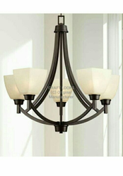 LED Iron Traditional Chandelier