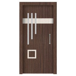 Brown Hinged Laminated Flush Door for Home, Size/Dimension: 7 X 3.25 feet