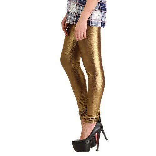 bc9572f023839 La Firangi Golden Color Ladies Legging, Size: Small, Rs 199 /piece ...