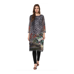 Simple Printed Ladies Kurta