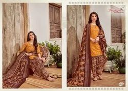 Readymade Patiala Cotton Suit For Women
