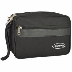 Black Compass Hand Bag