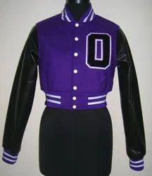 Crop Women Varsity Jacket