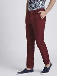Cotton Chinos Mens Ballon Fit Trousers