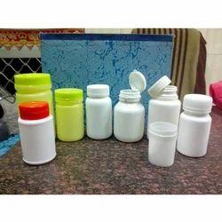 Plastic Tablet Jars