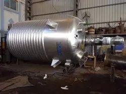 Mild Steel Pressure Tank With Agitator