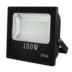 Aluminum Cool White 150W LED Flood Light, IP Rating: IP 66