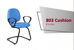 Non Rotatable With Armrest 803 Cushion Visitor Chair