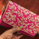 Red Ethnic Clutch Design